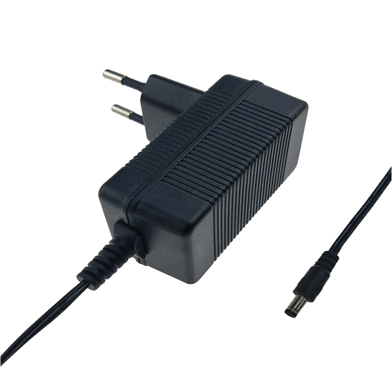 CE EMC LVD listed Medical 10V 1A European plug switching power supply adapter