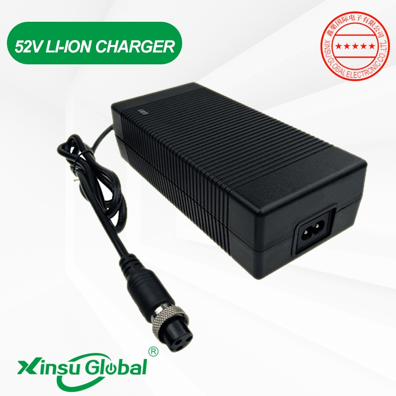 52V lithium ion battery electric bike scooter charger 58.8V 2A
