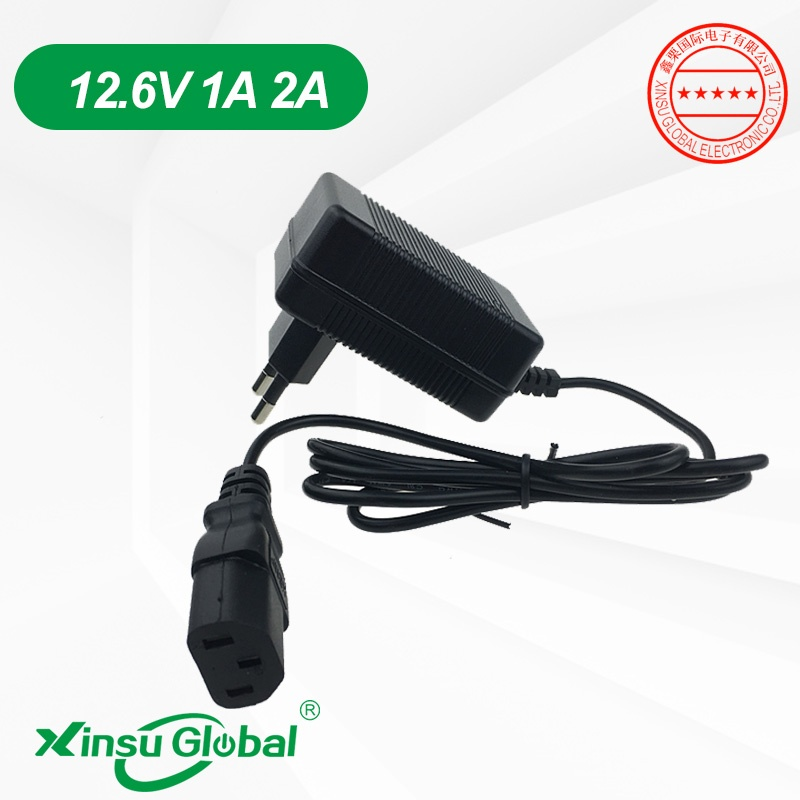12V knapsack spraying pump charger 12.6V 1A 1.8A 2A