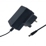 TUV CE 12V 1A UK 3PIN plug power supply ac adaptor CE EMC LVD RoH listed