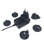 UL cUL PSE CE GS SAA KC CCC listed 12V 2A multi interchangeable plug power adaptor psu