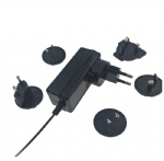 UL PSE CE GS KC SAA CCC multi detachable plugs power adapter 12V 2.5A