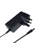 UK 3pin plug switching power supply ac adapter 12V 2.5A CE approved