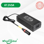 Signapore PSB listed 60V Lithium ion battery electric bicycle scooter charger 67.2V 3A