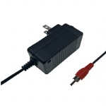 North America wall plug UL listed 7.3V 1A LiFePO4 battery charger