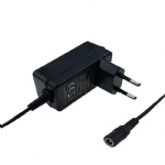 Europe wall plug CE EMC LVD listed 7.3V 1.5A LiFePO4 battery charger