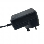 UK wall plug CE listed 14.6V 1.5A LiFePO4 battery charger