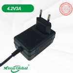 Koera KC KCC certificated 4.2V 3A Li-ion battery charger adapter