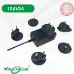 Battery powered ULV fogger charger adapter 12.6V 2A