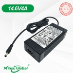 UL CE GS KC SAA PSE 12.8V LiFePO4 battery adapter 14.6V 4A charger