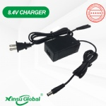 UL cUL PSE CE GS KC 8.4V 1A desktop lithium ion battery camera charger