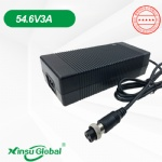 Electric scooter battery charger 48V ebike charger 54.6V 3A