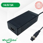 UL PSE CE GS SAA KC listed LiFePO4 battery 14.6V 5A charger
