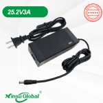 Portable power station lithium battery 25.2V 3A charger