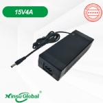 Portable power bank 15V 4A AC adapter PSE UL CE GS SAA KC listed