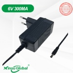 CE UL GS PSE SAA 6V NiMH battery charger 300mA