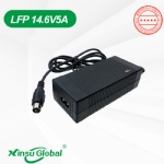 CE GS UL cUL PSE SAA golf trolley LiFePO4 battery 14.6V 5A charger