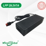 UL SAA PSE CE GS KC CCC Listed 29.2V 7A LiFePO4 battery charger