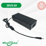 UL CE GS PSE SAA DOE VI 36V 5.5A electric heating blanket Switching power supply adapter