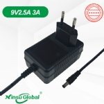 KC KCC 9V 2.5A 3A heating medical pad power supply adapter