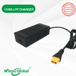 UL PSE CE GS SAA CCC Lithium 14.4V 4A 5A 6A LIFePO4 power supply battery charger adapter SAE connector
